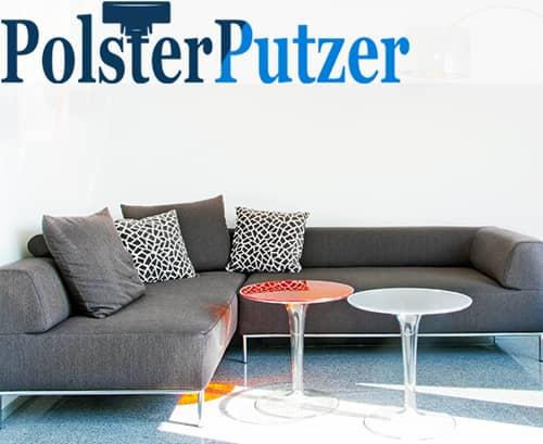 Designercouch reinigen lassen bei Polsterputzer