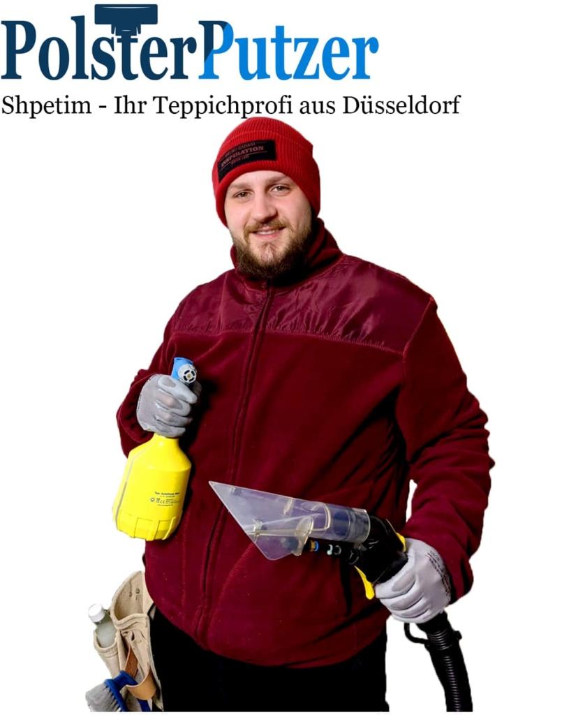 Shpetim Haxhiu der Teppichreinigungs Profi aus Düsseldorf